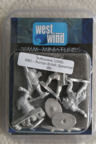 Westwind 28mm RB-03 Romano British Spearmen